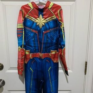 Captain Marvel Girl Costume Medium 8/10 NWOT